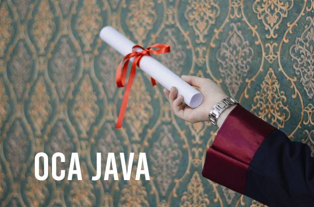 OCA Java Certification