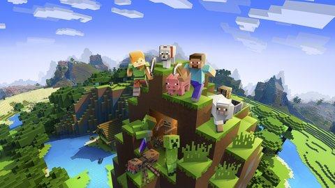 Minecraft Java game voorbeeld
