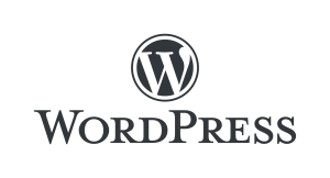Wordpress website maken: WordPress logo