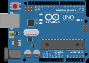Arduino Uno plattegrond