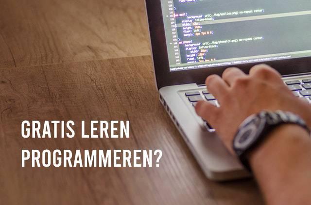 Gratis leren programmeren?