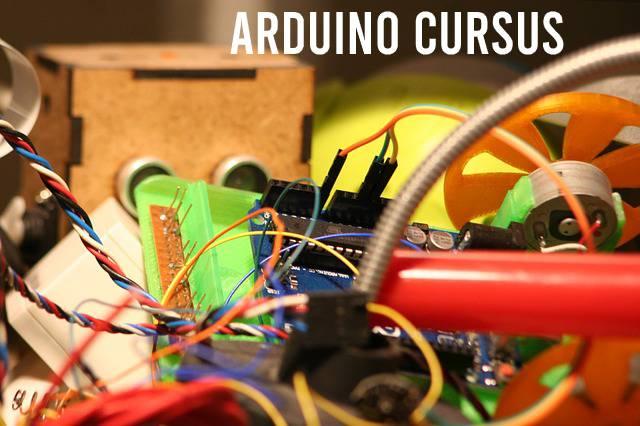 Arduino cursus. Arduino met bedrading