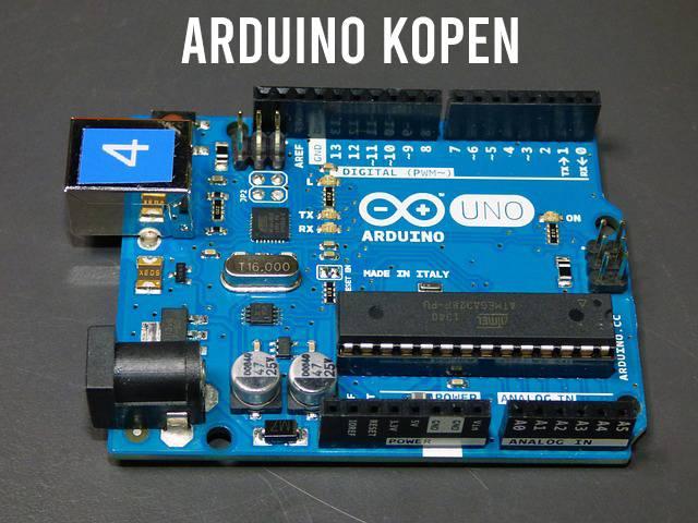 Arduino kopen. Arduino Uno op afbeelding