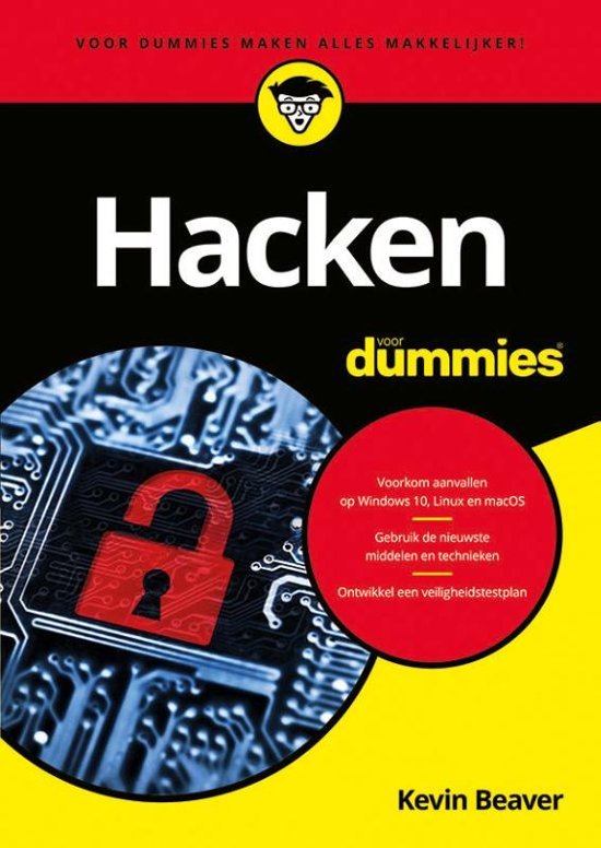 Hacken voor dummies boek