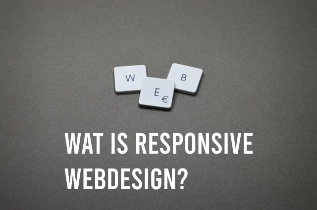 Wat is responsive webdesign? Met toetsen