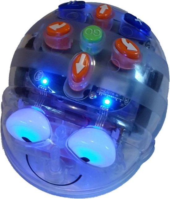 Blue-Bot met blauwe lichten