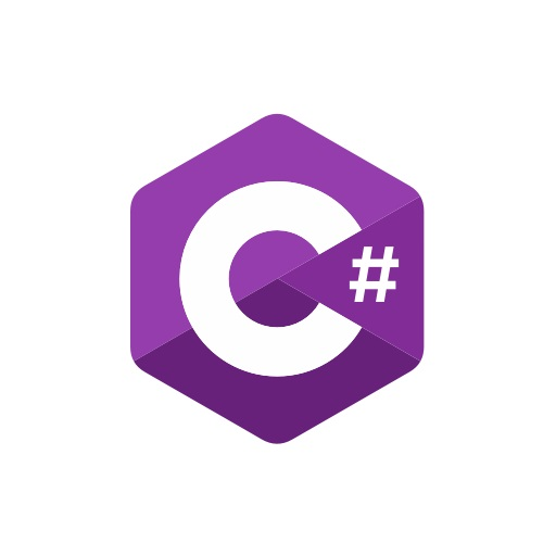 C# (C sharp) logo