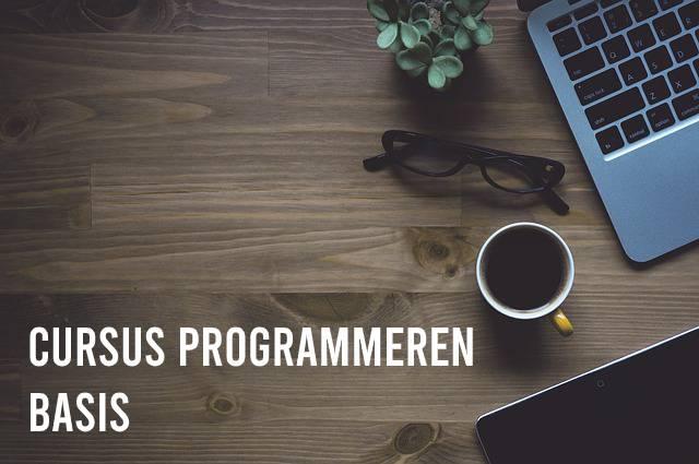 Cursus programmeren basis
