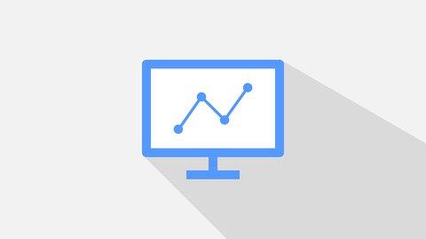Data visualisatie computer van een data analist