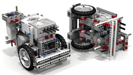 LEGO Mindstorms EV3 robots