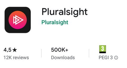 Pluralsight Android app beoordeling