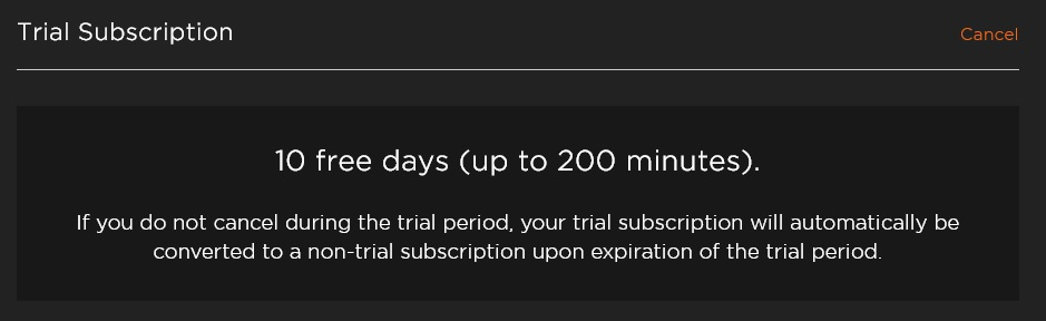 Pluralsight cancel trial subscription