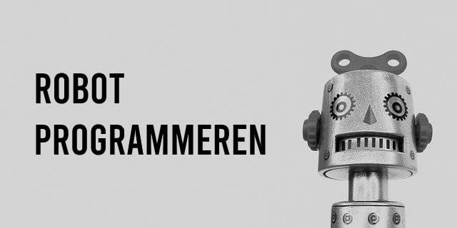 Robot programmeren voor een kind en volwassenen