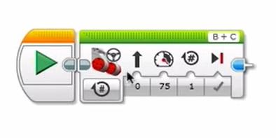 LEGO Mindstorms codeblokken in editor