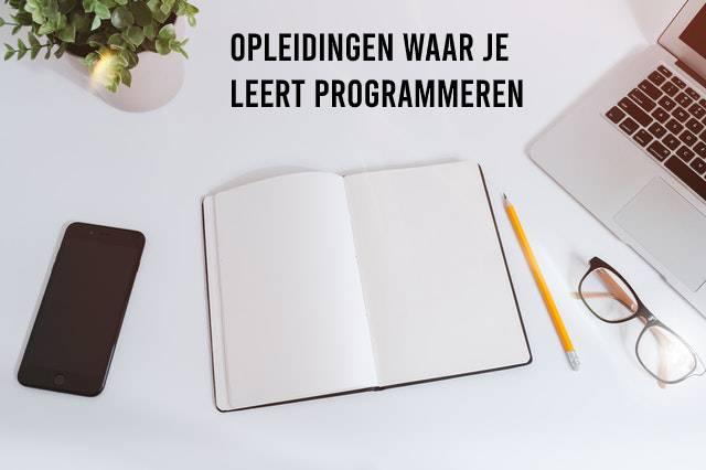 Opleidingen waar je leert programmeren