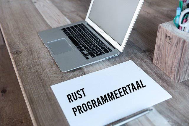 Rust programmeertaal, hoofdafbeelding