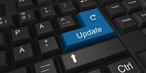 Update key op toetsenbord