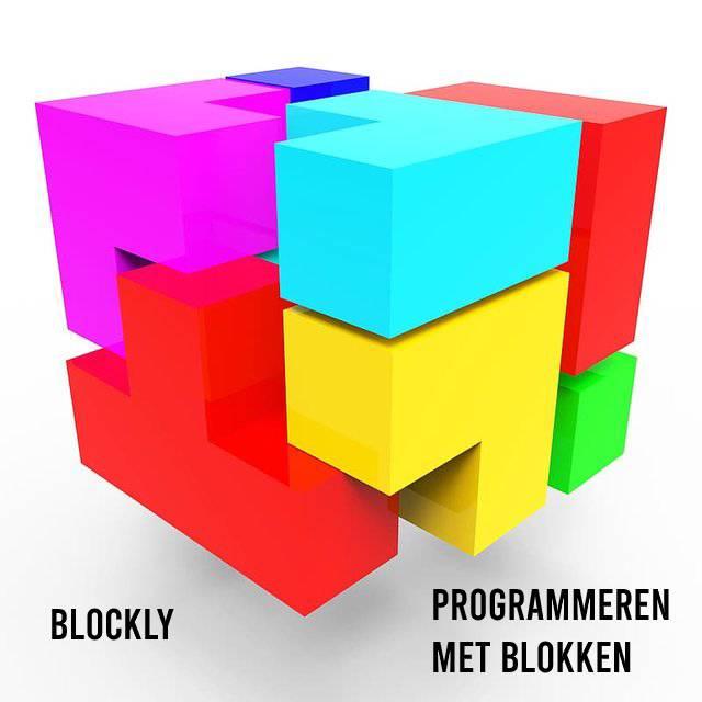 Blockly programmeren met blokken