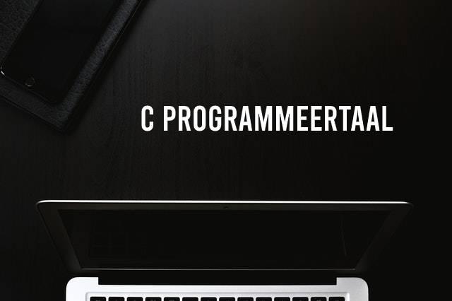 C programmeertaal