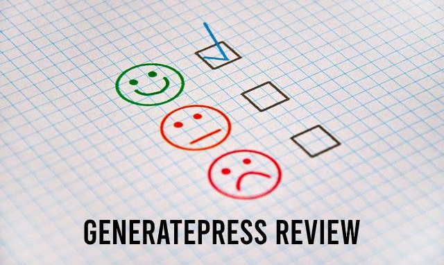 GeneratePress review, hoofdafbeelding