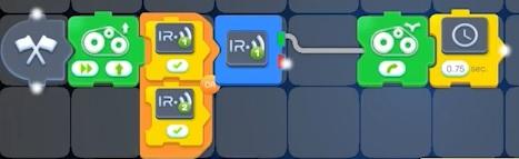 Blokken voorbeeld van Robomaker
