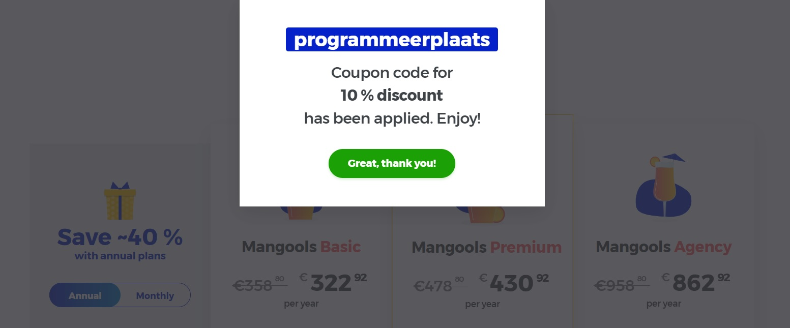 Mangools - KWFinder discount / korting ProgrammeerPlaats