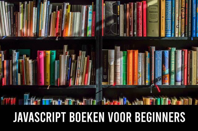 JavaScript boeken voor beginners