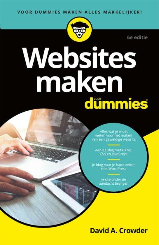 Websites maken voor Dummies boek