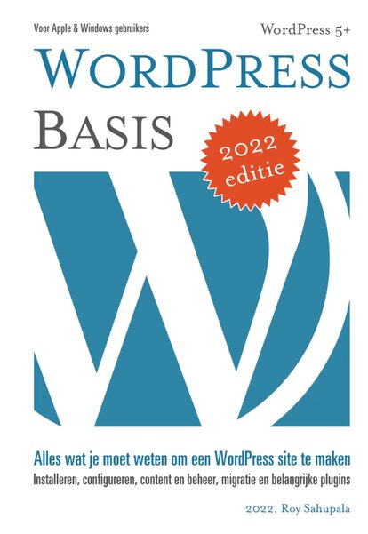 WordPress Basis (Roy Sahupala) boek