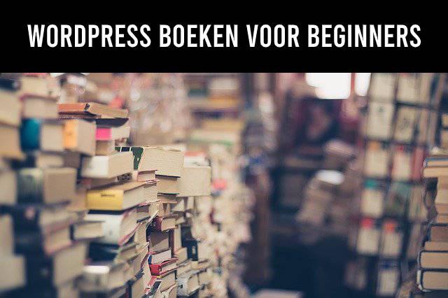 WordPress boeken voor beginners