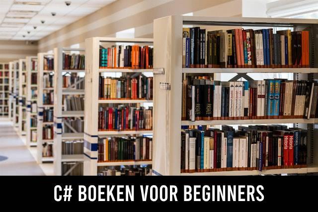 C# (C sharp) boeken voor beginners