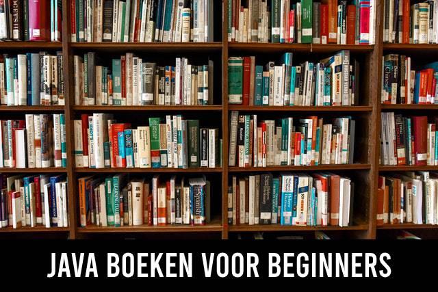 Java boeken voor beginners