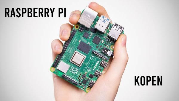 Raspberry Pi kopen