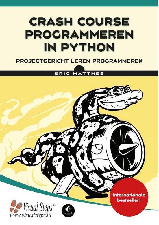 Crash Course Programmeren in Python boek