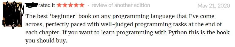 Python Crash Course review 2