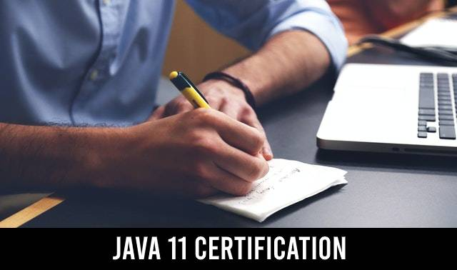 Java 11 certification