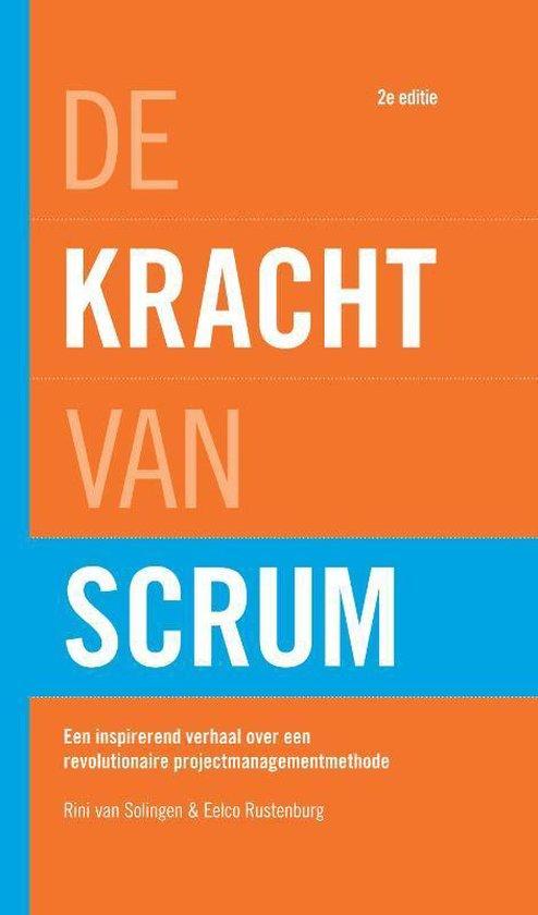 De kracht van Scrum (Rini van Solingen & Eelco Rustenburg) boek