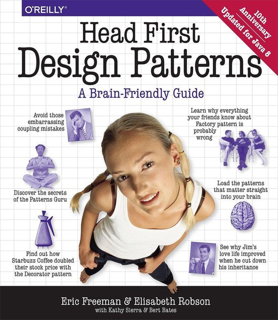 Head First Design Patterns boek