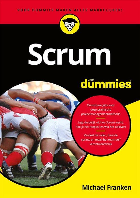 Scrum voor dummies (Michael Franken) boek
