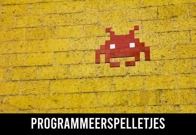 Programmeerspelletjes / Programmeer games