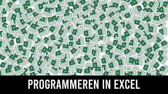 Programmeren in Excel