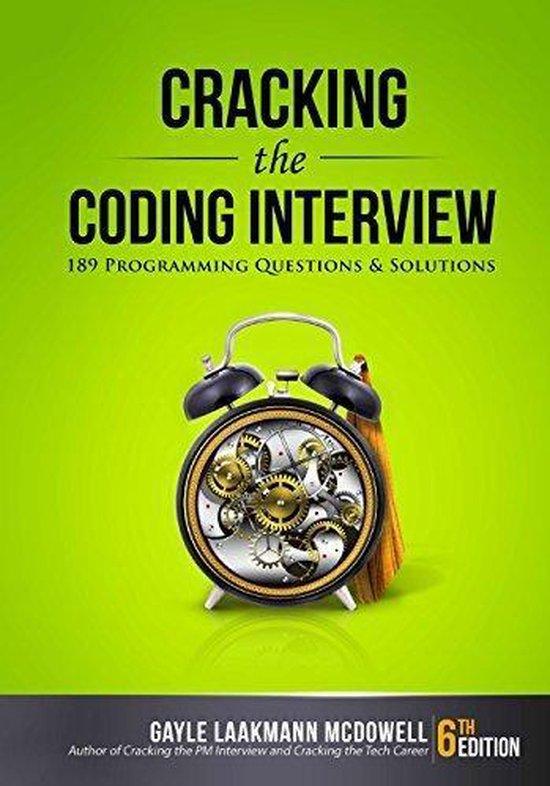 Cracking the Coding Interview (Gayle Laakmann McDowell) boek
