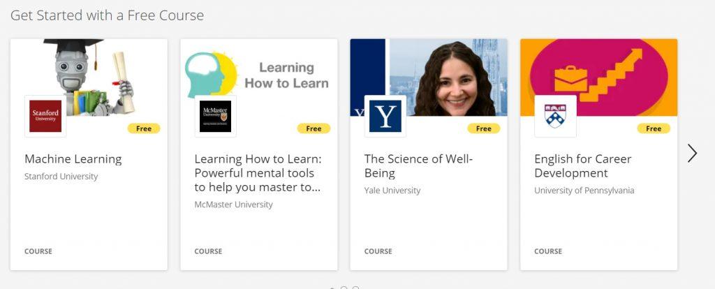 Free course Coursera