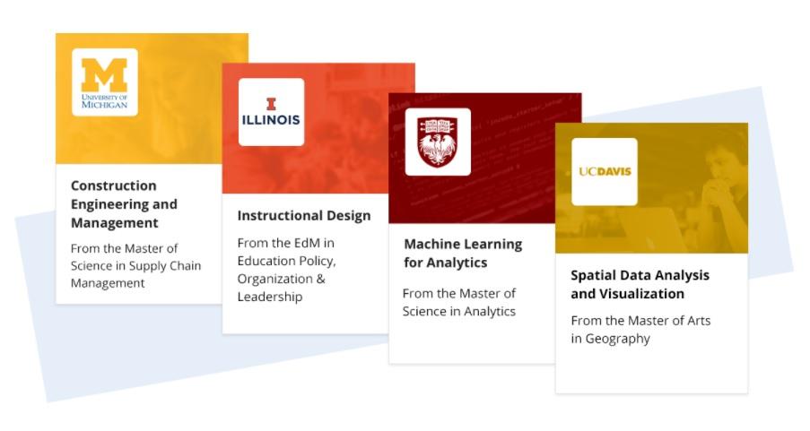 MasterTrack Certificates Coursera