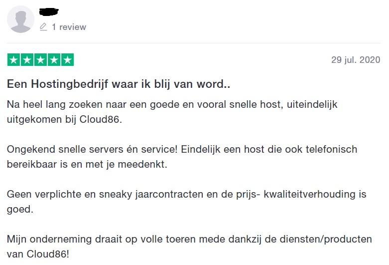 Cloud86 review 2