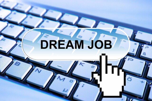 Dream job toetsenbord
