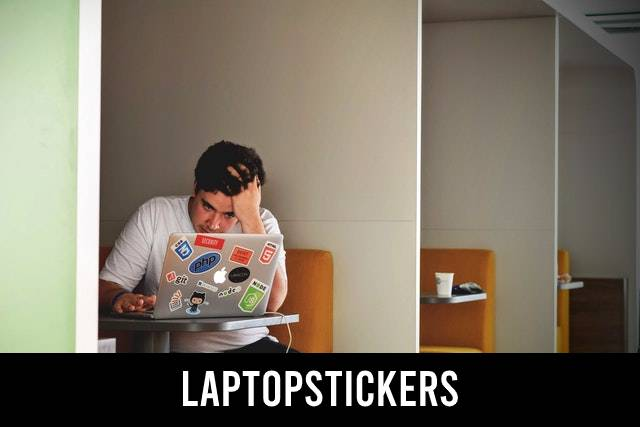 Laptopstickers, o.a. voor de MacBook Air/Pro, HP, Chromebook en Lenovo