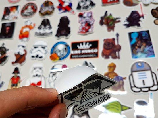 Star Wars laptopstickers