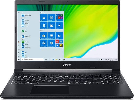 Acer Aspire 7 A715-75G-77WN laptop
