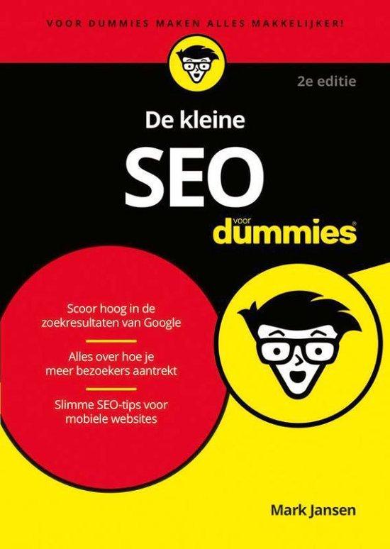 De kleine SEO voor dummies (Mark Jansen) boek